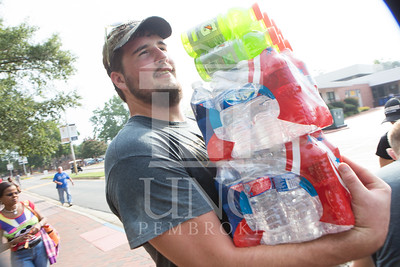 Students move in to their Dorms at the University of North Carolina at Pembroke on Monday, August 18th, 2014. move-in-2014_0022.JPG