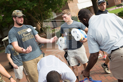 Students move in to their Dorms at the University of North Carolina at Pembroke on Monday, August 18th, 2014. move-in-2014_0019.JPG