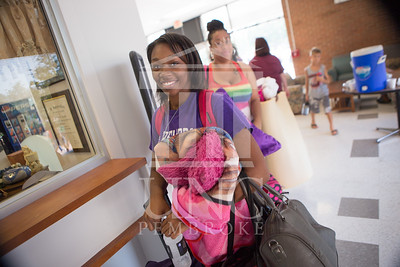 Students move in to their Dorms at the University of North Carolina at Pembroke on Monday, August 18th, 2014. move-in-2014_0008.JPG