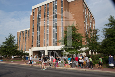 Students move in to their Dorms at the University of North Carolina at Pembroke on Monday, August 18th, 2014. move-in-2014_0001.JPG