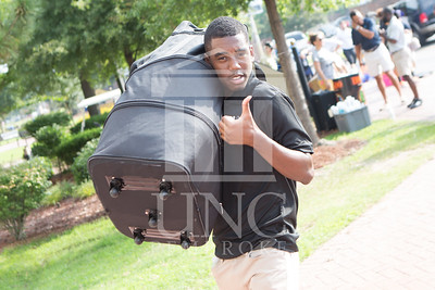 Students move in to their Dorms at the University of North Carolina at Pembroke on Monday, August 18th, 2014. move-in-2014_0011.JPG