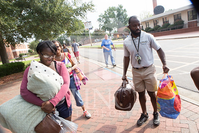 Students move in to their Dorms at the University of North Carolina at Pembroke on Monday, August 18th, 2014. move-in-2014_0023.JPG