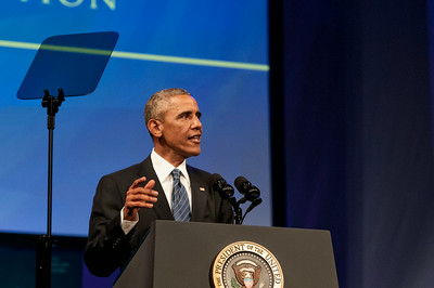 President Barack Obama Address The American Legion l 96th  Annual Convention @ Charlotte Convention Center 8-26-14