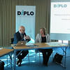 Dr Marie-Louise Coleiro Preca, the President-Designate of Malta, and Dr Jovan Kurbalija, director of DiploFoundation