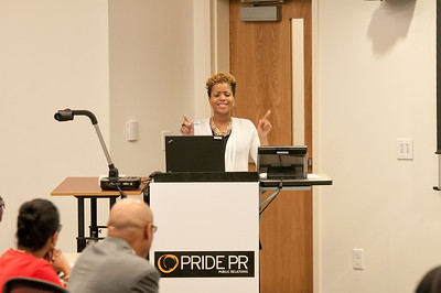 "Pride PR ""Perfect Pitch"" Small Biz Seminar @ Wake Forest University Campus 5-13-14"