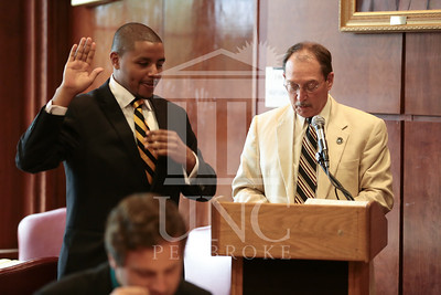 UNC Pembroke's SGA Induction Ceremony on May 5th, 2014 SGA_Induction_674.JPG