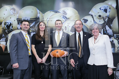 UNC Pembroke announces Shane Richardson as the new Head Football Coach at a press conference on Friday, February 21st, 2014. UNCP_Football_Coach_0148.JPG
