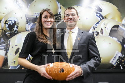UNC Pembroke announces Shane Richardson as the new Head Football Coach at a press conference on Friday, February 21st, 2014. UNCP_Football_Coach_0137.JPG