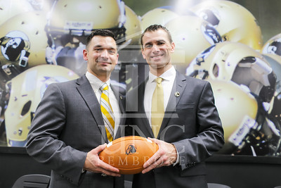 UNC Pembroke announces Shane Richardson as the new Head Football Coach at a press conference on Friday, February 21st, 2014. UNCP_Football_Coach_0153.JPG