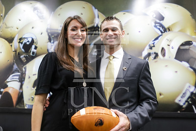 UNC Pembroke announces Shane Richardson as the new Head Football Coach at a press conference on Friday, February 21st, 2014. UNCP_Football_Coach_0129.JPG
