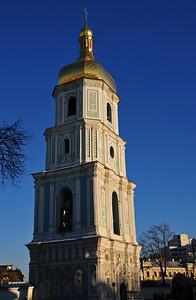 Kiew - beautiful sunshine but freezing cold