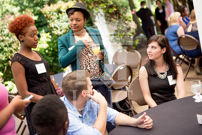 The University of North Carolina at Pembroke holds a Meet and Greet event for Student Organization Leaders at the Chancellor's Residence on Wednesday, August 27th, 2014. Student_org_leaders_0021.JPG