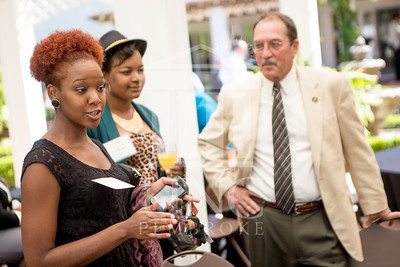 The University of North Carolina at Pembroke holds a Meet and Greet event for Student Organization Leaders at the Chancellor's Residence on Wednesday, August 27th, 2014. Student_org_leaders_0026.JPG