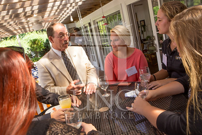 The University of North Carolina at Pembroke holds a Meet and Greet event for Student Organization Leaders at the Chancellor's Residence on Wednesday, August 27th, 2014. Student_org_leaders_0008.JPG