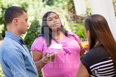 The University of North Carolina at Pembroke holds a Meet and Greet event for Student Organization Leaders at the Chancellor's Residence on Wednesday, August 27th, 2014. Student_org_leaders_0028.JPG