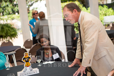 The University of North Carolina at Pembroke holds a Meet and Greet event for Student Organization Leaders at the Chancellor's Residence on Wednesday, August 27th, 2014. Student_org_leaders_0012.JPG