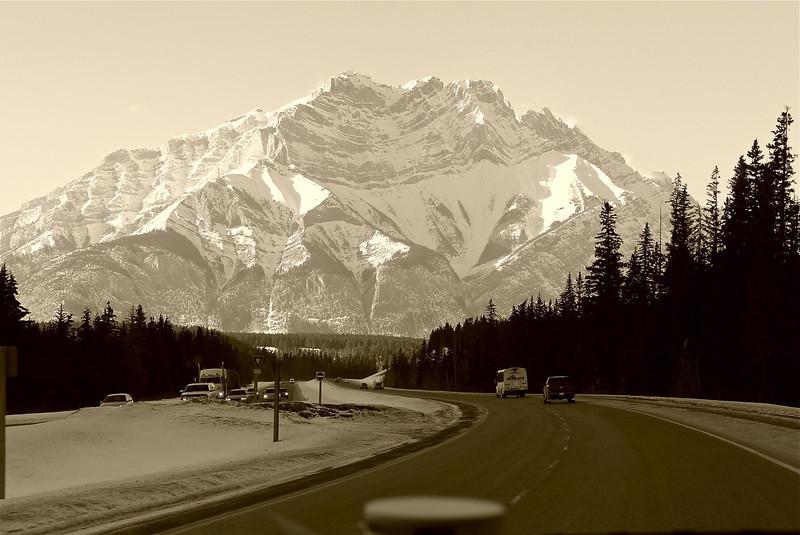 entering Banff