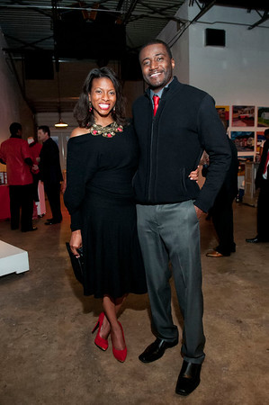 The 6th Annual Red Pump Red Tie Affair @ Hart Witzen Gallery 12-6-14