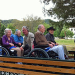 Therapeutic Recreation Driving CA Veterans Home Yountvile