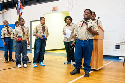 Troop 25 Blue & Gold Banquet @ St Paul Baptist 3-8-14