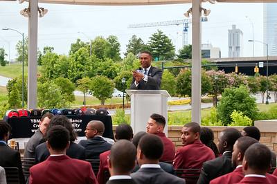 Young Black Men Scholar Day @ Dresslar's 6-1-14
