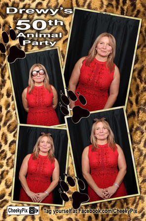 Drewys 50th Birthday Photo Booth