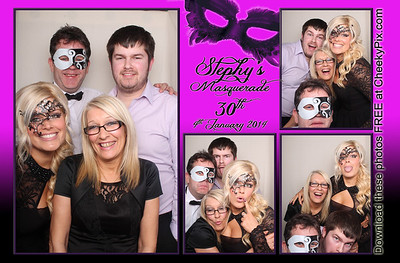 Stephys 30th Party Photo Booth
