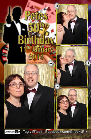 James Bond Photo Booth