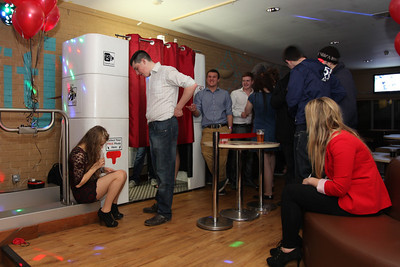 CheekyPix photo booth at Sparsholt College Winchester