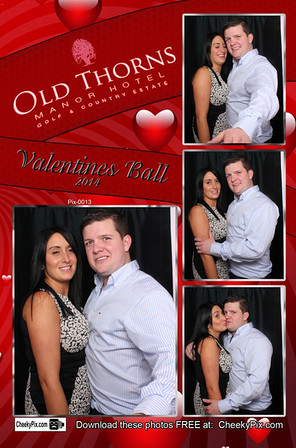 Valentine Photo Booth