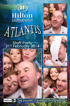 hilton photo booth hire