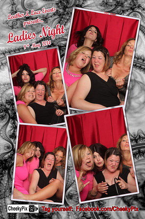 ladies night photo booth hire