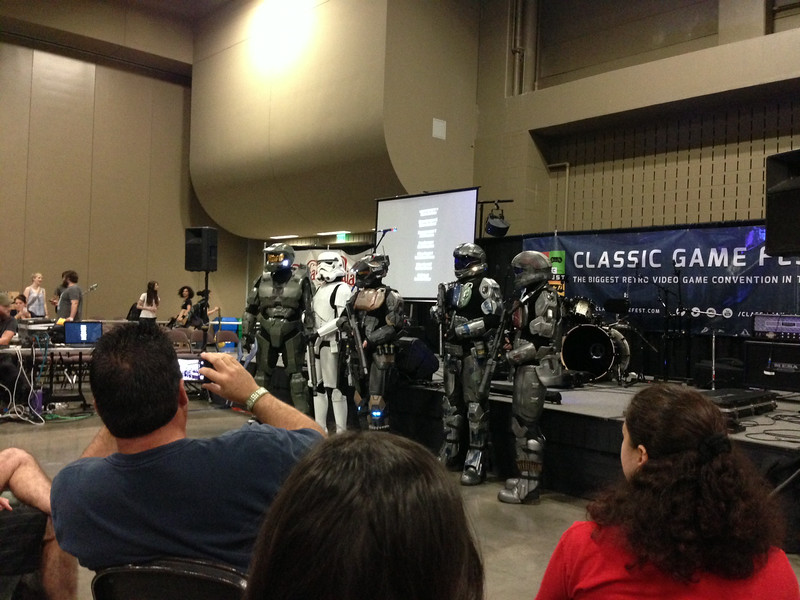 501st Imperial Garrison with HALO troopers