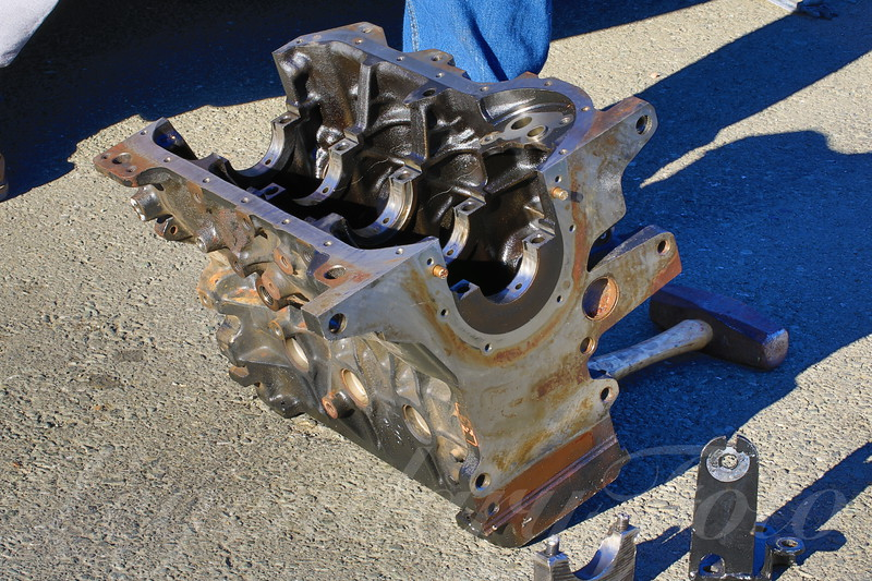 Broken Engine Block