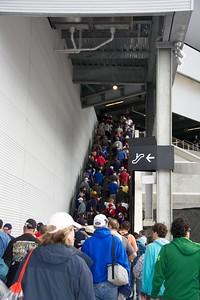 ...one of the new escalators.