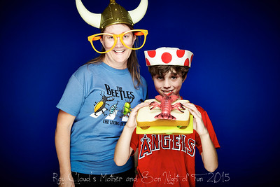 2015-05-08 Roy Cloud Mother and Son Photo Booth