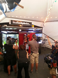 Tanked on Animal Planet teams up with In A Flash Photo Booths at First Friday