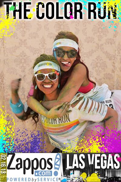ZAPPOS®<br /> THE COLOR RUN<br /> <br /> ©IN-A-FLASH PHOTO BOOTHS<br /> INTERACTIVE PHOTO EXPERIENCE™