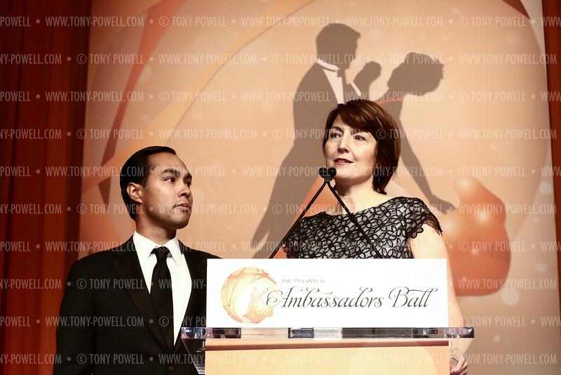 Photo © Tony Powell. 2015 Ambassadors Ball. Marriott Marquis. September 8, 2015