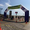 The finish line on the Atlantic City Boardwalk