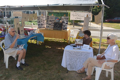 We're always delighted to share our tent with the good folks of the Plainfield Historical Society.
