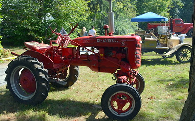 What's Old Home Day without an old tractor or two?