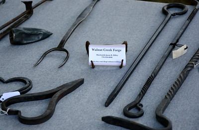Some of the works by Walnut Creek Forge.