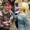 Elsa wanted to touch Nicke Zombie.  He probably could have had a girlfriend, but unfortunately he ate her 10 seconds later.