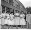 Alumni Photos005 Peggy Miller Vicki Hackney Linda Bryan Tammy Aase Carolyn Cathcart Leray Muirhead 8th Grade Graduation