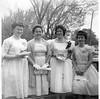 Alumni Photos004 Peggy Miller Miss Esther Lindquist Vicki Hackney Linda Bryan 8th Grade Graduation