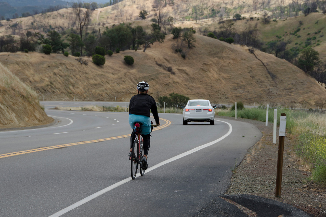 The first descent on Hwy 20