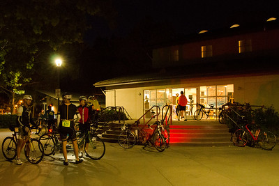 The DC launches from the US Bicycling Hall of Fame in downtown Davis