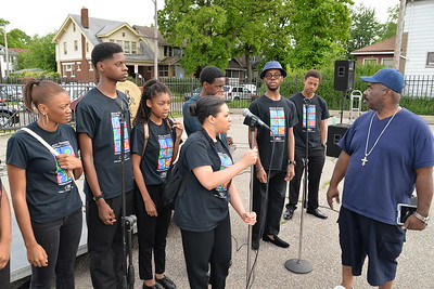 2015 Detroit's Occupy the Corner sponsored by Detroit Councilwoman, Mary Sheffield