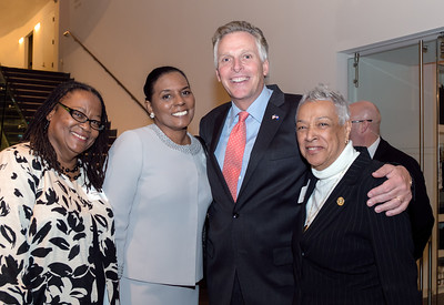 The Virginia Legislative Black Caucus held their Pre-Veto reception welcoming members to the 2015 Virginia General Assembly at the Virginia Museum of Fine Arts in Richmond, Virginia January 12, 2015. Special guest in attendance included Virginia Governor Terry McAuliffe,